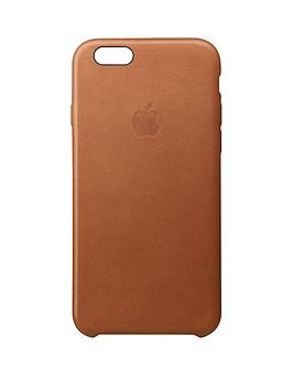 Apple Iphone 6S Leather Case - Brown cheapest retail price