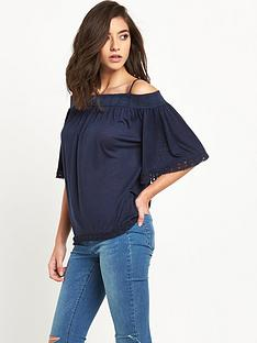 v-by-very-cold-shoulder-crochet-trimnbsptop
