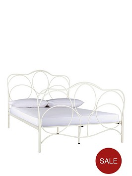 cromer-metal-double-bed-frame-with-optional-mattress