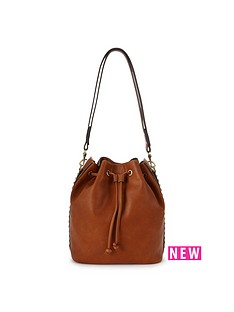 fiorelli-rossini-studded-drawstring-bag