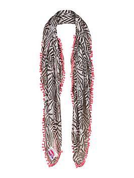 superdry-zebra-print-scarf
