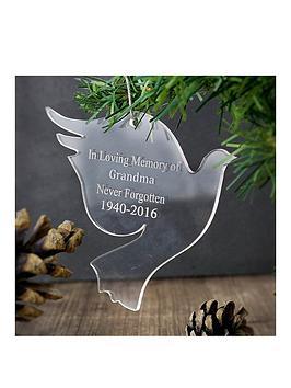 personalised-acrylic-dove-decoration