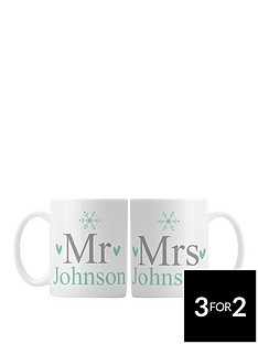 personalised-mr-amp-mrs-christmas-mugs