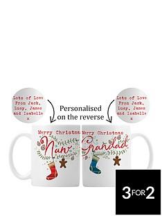 personalised-nan-amp-grandad-christmas-mugs