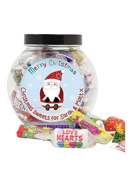 personalised-santa-sweet-jar
