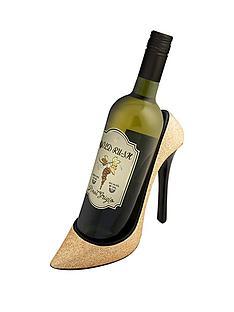 shoe-wine-bottle-holder