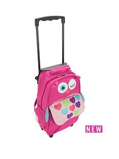 my-doodles-owl-suitcase-pink