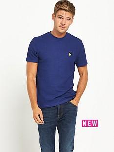 lyle-scott-lyle-amp-scott-grid-texture-t-shirt