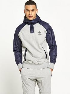 franklin-marshall-franklin-amp-marshall-technical-quarter-zip-hoodie