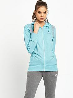 slazenger-kim-zip-through-hooded-top