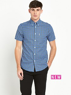ben-sherman-gingham-short-sleevenbspcheck-shirt