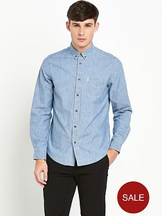 ben-sherman-chambray-mens-shirt