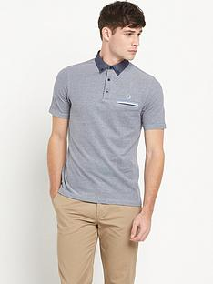 fred-perry-woven-collar-polo-shirt