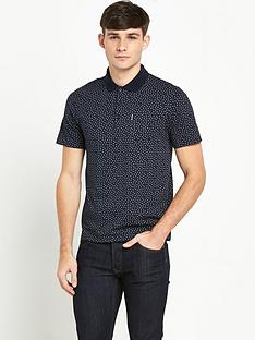 ben-sherman-mini-geo-print-mens-polo-shirt