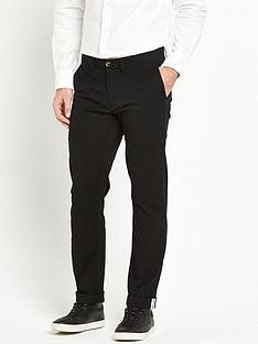 ben-sherman-stretch-mens-chinos-ndash-black