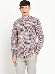ben-sherman-check-mens-shirt-ndash-blue-depths