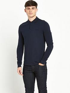 ben-sherman-tonal-romford-mens-top-ndash-navy