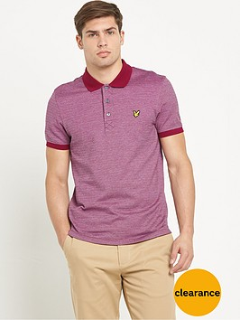 lyle-scott-all-over-birdseye-polo