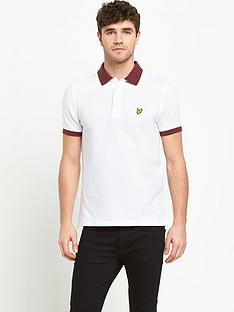 lyle-scott-space-dye-mens-polo-shirt