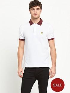 lyle-scott-space-dye-mens-polo-shirt