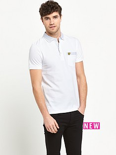 lyle-scott-oxford-stripe-mens-polo-shirt