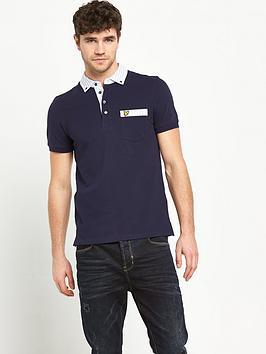 lyle-scott-lyle-amp-scott-oxford-stripe-woven-collar-polo