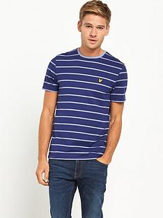 lyle-scott-birdseye-short-sleevenbspt-shirt