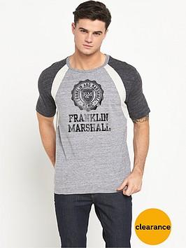 franklin-marshall-seal-contrast-mens-t-shirt