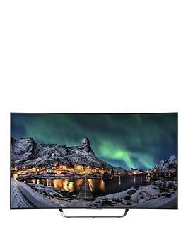 Sony Kd65S8005Cbu 65 Inch Freeview 4K Hd, 3D Smart, Ultra Hd Led Tv - Black