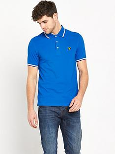 lyle-scott-tipped-collarnbsppolo-shirt