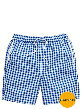penguin-gingham-swimshort