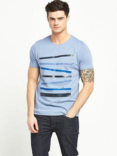 penguin-racing-stripes-t-shirt