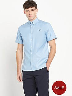 fred-perry-short-sleeve-twill-shirt