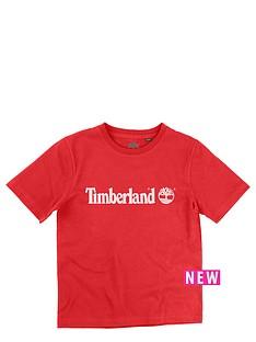 timberland-logo-tee