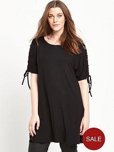 so-fabulous-lace-up-shoulder-t-shirt