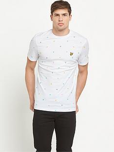 lyle-scott-micro-printnbspt-shirt