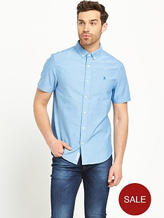 penguin-short-sleeve-oxford-shirt