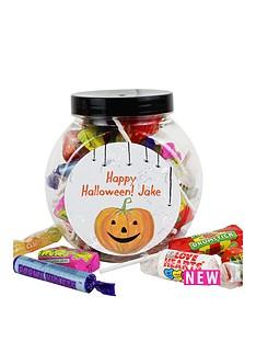 personalised-halloween-pumpkin-sweet-jar