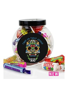 personalised-halloween-day-of-the-dead-sweet-jar