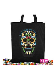 personalised-halloween-day-of-the-dead-trick-or-treat-bag