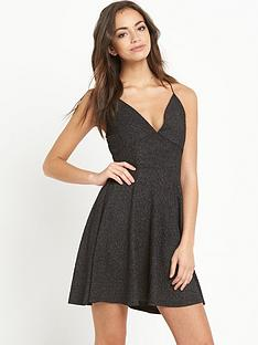ax-paris-thin-strap-skater-dress