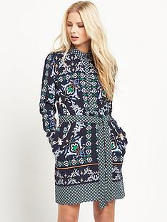 warehouse-persian-print-shirt-dress