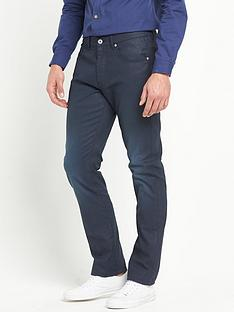 goodsouls-slim-fit-coated-mens-jeans