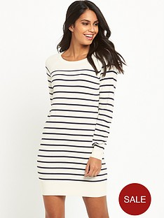 v-by-very-simplenbspzip-back-knitted-dress