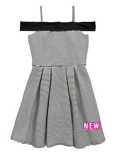 v-by-very-girls-bonded-stripe-bardot-dress