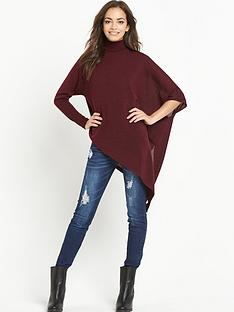 ax-paris-asymmetric-high-neck-knitted-jumper