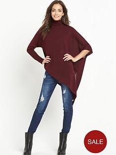 ax-paris-asymmetric-high-neck-knitted-jumper