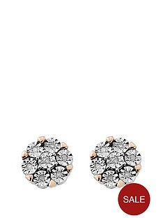 diamond-chic-sterling-silver-and-9ct-rose-gold-7-point-diamond-stud-earrings