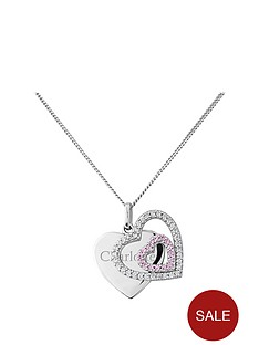 keepsafe-keepsafe-personalised-sterling-silver-pink-and-white-cubic-zirconia-heart-pendant