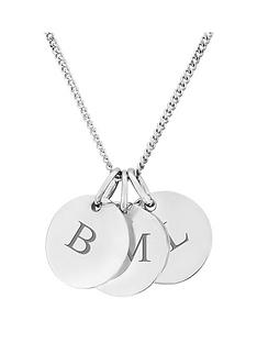 keepsafe-personalised-sterling-silver-three-pebble-pendant